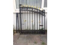 ##### wrought iron gates ######