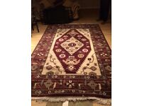 Vintage large rug
