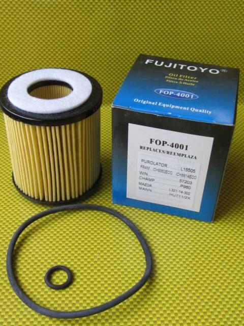 FJT1 Oil Filter Mazda 3 2.3 MPS Hatchback BK14 2003- Petrol