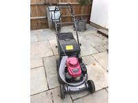 Honda hrd536 rear roller lawnmower