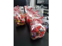 Xmas/birthday sweet gift bags and boxes also sweet cones small medium and large