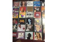 1000 CDs from Radio Station Library-Pop rock country etc Glasgow