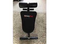 Bodymax abdominal & HYPER Extension folding bench