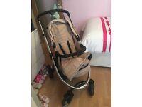 Mothercare pram and car seat
