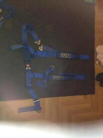 Luke 4 point racing harnesses x 2