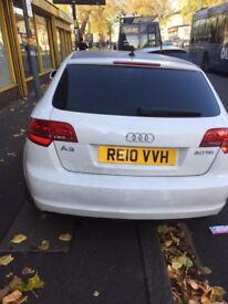 Audi A3 .automatic, diseal, 2010 plate,5 door hatch back with 7 month mot and tax