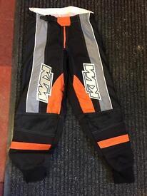 Kids KTM Motox trousers