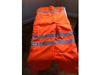 orange railway trousers