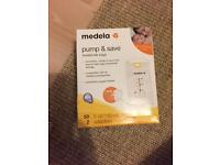 Medela pump and save bags (50)