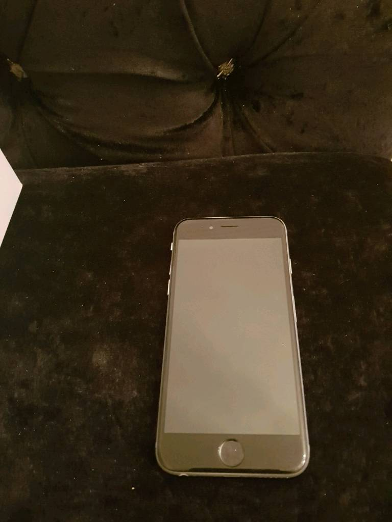 Apple iphone space grey 6 unlocked