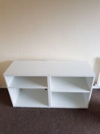 Tv Stand with holes for leads 120cm x 65cm