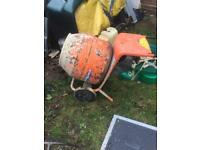 Belle mini mix 150 petrol cement mixer Honda gxh50