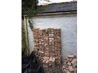 Reclaimed Georgian bricks