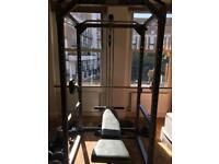 Squat Rack, Barbell, Weight Bench, Iron Weights RRP £1000