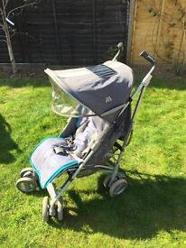 MacLaren Techno XT Pushchair with rain and seat cover