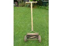 Vintage Folbate Lawnmower,