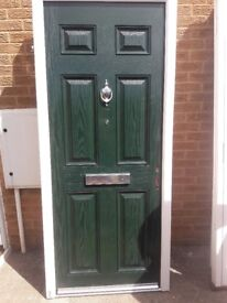 Green Compsite Door NEW
