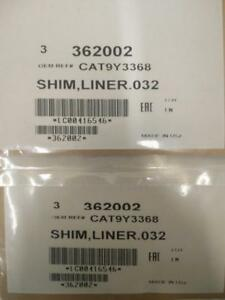 Stainless Steel Liner Shim 0.0324 for Caterpillar 3406 3406E C15 P/N: 9Y3368 Qty: (6)