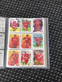 Liverpool collectable football cards memorabilia