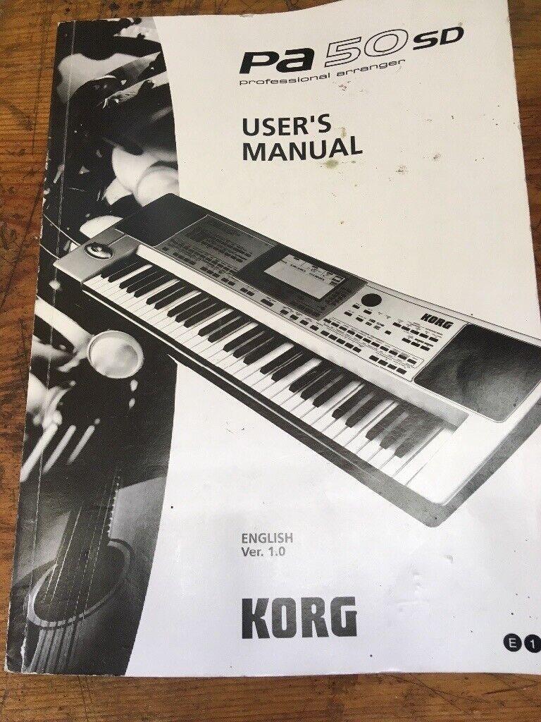 Korg  PA50SD 5 Octave Midi Keyboard   in Wincanton, Somerset   Gumtree