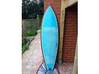 Teardrop Surfboard - Fish Quad Fin