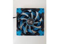 AEROCOOL Dead Silence DS14 Blue Fan Cooler (14cm)