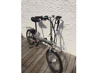 36v Conversion On Folding Bike