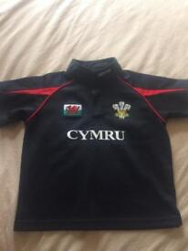 Boys wales top age 3-4 years