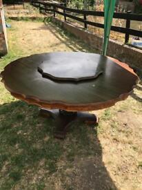Sold Mahogany Table