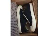 Size 11 Jack Jones canvas trainers