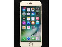 iPhone 6 (EE) gold and white