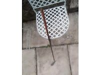 1950s MacGregor Tommy Armour 5 iron stainless steel golf club