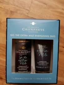 Champneys Go The Extra Mile Mens Gift Set BRAND NEW