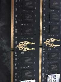 8GB GAMING RAM PC2