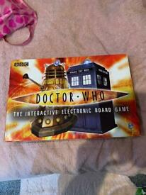 DOCTOR WHO INTERACTIVE ELECTRONIC BOARD GAME