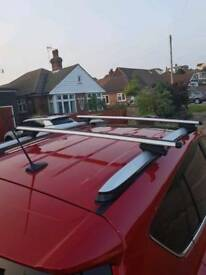 Toyota roof side bars and cross bars Rav 4 2014