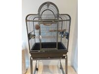 Bird Cage & Accessories - Like New