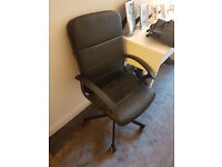 Brand New Condition Used a few Time - Ikea Leather Chair (Faux)