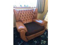 60s retro armchairs and sofa