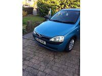 2002 Vauxhall Corsa 1.2 16v Club 5dr breeze blue