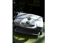 George Foreman . In Family Size Electric Grill Large Champ Indoor Kitchen