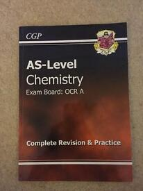 AS-Level Chemistry CGP Revision Guide