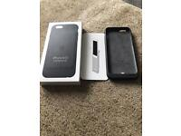iPhone 6 / 6s Smart Battery Case - Charcoal Grey