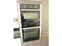 Microwave with oven and grill. Built in appliance 2 years old