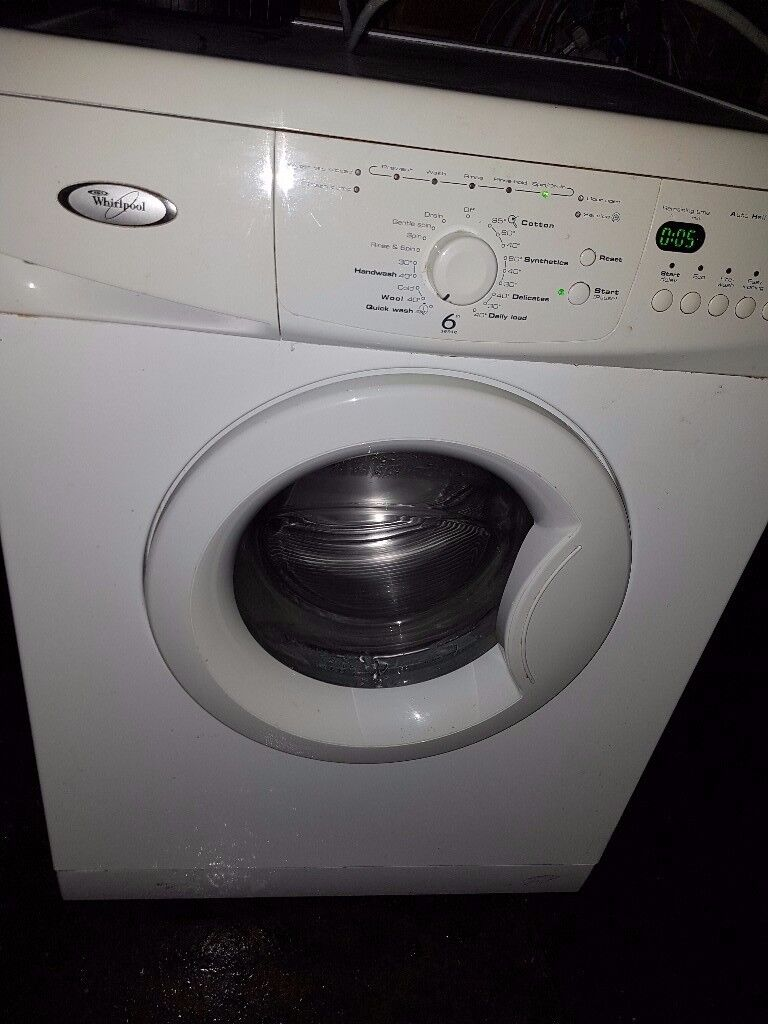 whirlpool antibacterial 6th sense washing machine ex con in stoke on trent staffordshire. Black Bedroom Furniture Sets. Home Design Ideas