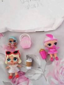 Lol dolls rare lil splash queen Leading baby showbaby & dawn