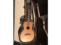 Freshman FA-300 Parlour Guitar - With Hard Case