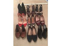Job lot of size 6 and 5 shoes