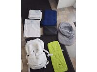 Baby boys bundle travel and cot