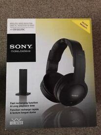 Sony RF865RK Wireless Headphones for TV, Home Cinema etc